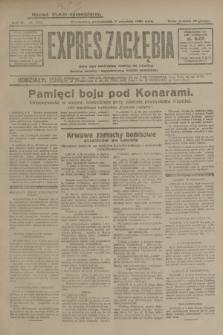 Expres Zagłębia : jedyny organ demokratyczny niezależny woj. kieleckiego. R.4, nr 234 (9 września 1929)