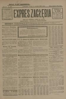 Expres Zagłębia : jedyny organ demokratyczny niezależny woj. kieleckiego. R.4, nr 239 (14 września 1929)