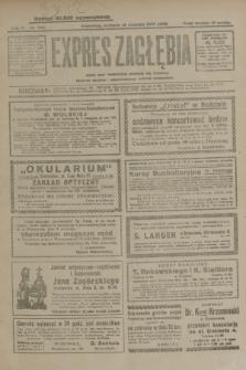Expres Zagłębia : jedyny organ demokratyczny niezależny woj. kieleckiego. R.4, nr 240 (15 września 1929)