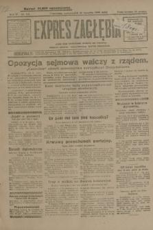 Expres Zagłębia : jedyny organ demokratyczny niezależny woj. kieleckiego. R.4, nr 241 (16 września 1929)