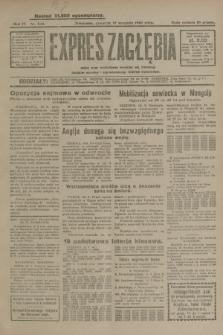Expres Zagłębia : jedyny organ demokratyczny niezależny woj. kieleckiego. R.4, nr 244 (19 września 1929)