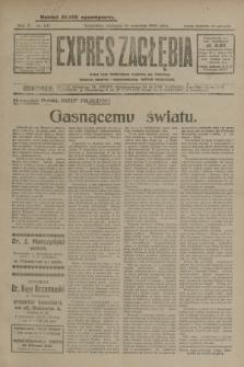 Expres Zagłębia : jedyny organ demokratyczny niezależny woj. kieleckiego. R.4, nr 247 (22 września 1929)