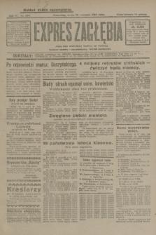 Expres Zagłębia : jedyny organ demokratyczny niezależny woj. kieleckiego. R.4, nr 250 (25 września 1929)