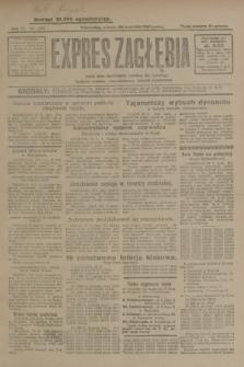 Expres Zagłębia : jedyny organ demokratyczny niezależny woj. kieleckiego. R.4, nr 253 (28 września 1929)