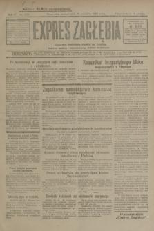 Expres Zagłębia : jedyny organ demokratyczny niezależny woj. kieleckiego. R.4, nr 255 (30 września 1929)