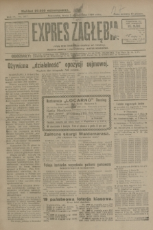 Expres Zagłębia : jedyny organ demokratyczny niezależny woj. kieleckiego. R.4, nr 257 (2 października 1929)