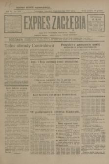 Expres Zagłębia : jedyny organ demokratyczny niezależny woj. kieleckiego. R.4, nr 258 (3 października 1929)