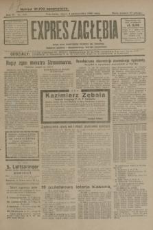 Expres Zagłębia : jedyny organ demokratyczny niezależny woj. kieleckiego. R.4, nr 259 (4 października 1929)