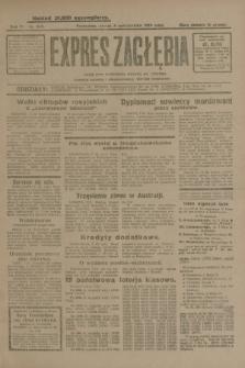 Expres Zagłębia : jedyny organ demokratyczny niezależny woj. kieleckiego. R.4, nr 262 (8 października 1929)