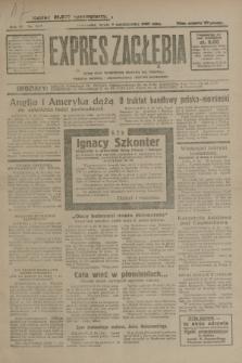 Expres Zagłębia : jedyny organ demokratyczny niezależny woj. kieleckiego. R.4, nr 263 (9 października 1929)