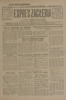 Expres Zagłębia : jedyny organ demokratyczny niezależny woj. kieleckiego. R.4, nr 264 (10 października 1929)