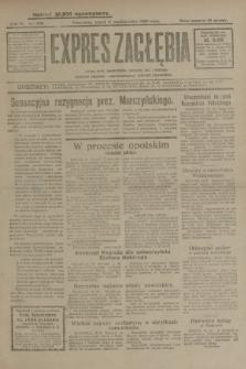 Expres Zagłębia : jedyny organ demokratyczny niezależny woj. kieleckiego. R.4, nr 265 (11 października 1929)