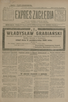 Expres Zagłębia : jedyny organ demokratyczny niezależny woj. kieleckiego. R.4, nr 266 (12 października 1929)