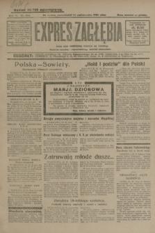 Expres Zagłębia : jedyny organ demokratyczny niezależny woj. kieleckiego. R.4, nr 268 (14 października 1929)