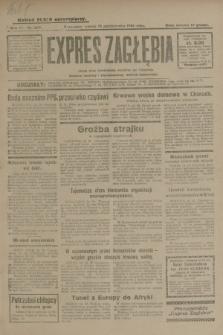 Expres Zagłębia : jedyny organ demokratyczny niezależny woj. kieleckiego. R.4, nr 269 (15 października 1929)