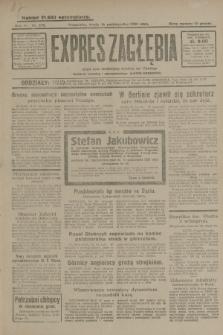 Expres Zagłębia : jedyny organ demokratyczny niezależny woj. kieleckiego. R.4, nr 270 (16 października 1929)