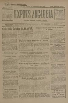 Expres Zagłębia : jedyny organ demokratyczny niezależny woj. kieleckiego. R.4, nr 271 (17 października 1929)