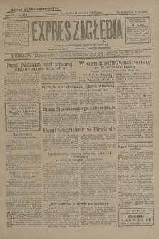 Expres Zagłębia : jedyny organ demokratyczny niezależny woj. kieleckiego. R.4, nr 272 (18 października 1929)