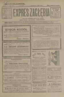 Expres Zagłębia : jedyny organ demokratyczny niezależny woj. kieleckiego. R.4, nr 274 (20 października 1929)