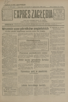 Expres Zagłębia : jedyny organ demokratyczny niezależny woj. kieleckiego. R.4, nr 275 (21 października 1929)