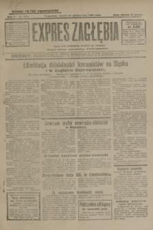Expres Zagłębia : jedyny organ demokratyczny niezależny woj. kieleckiego. R.4, nr 276 (22 października 1929)
