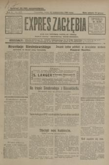 Expres Zagłębia : jedyny organ demokratyczny niezależny woj. kieleckiego. R.4, nr 277 (23 października 1929)