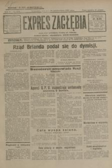 Expres Zagłębia : jedyny organ demokratyczny niezależny woj. kieleckiego. R.4, nr 278 (24 października 1929)