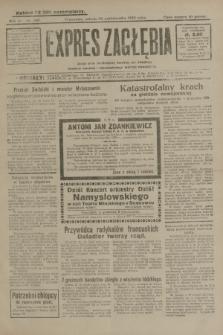 Expres Zagłębia : jedyny organ demokratyczny niezależny woj. kieleckiego. R.4, nr 280 (26 października 1929)