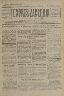 Expres Zagłębia : jedyny organ demokratyczny niezależny woj. kieleckiego. R.4, nr 282 (28 października 1929)