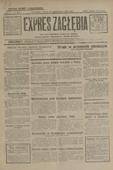 Expres Zagłębia : jedyny organ demokratyczny niezależny woj. kieleckiego. R.4, nr 283 (29 października 1929)