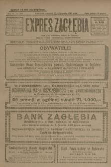 Expres Zagłębia : jedyny organ demokratyczny niezależny woj. kieleckiego. R.4, nr 285 (31 października 1929)