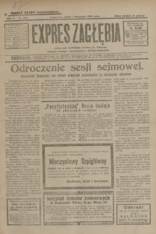 Expres Zagłębia : jedyny organ demokratyczny niezależny woj. kieleckiego. R.4, nr 286 (1 listopada 1929)