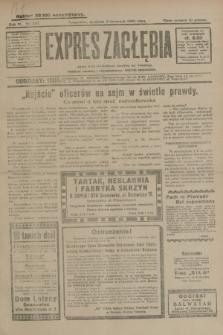 Expres Zagłębia : jedyny organ demokratyczny niezależny woj. kieleckiego. R.4, nr 287 (3 listopada 1929)