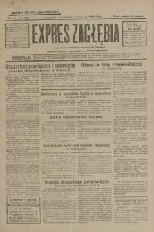 Expres Zagłębia : jedyny organ demokratyczny niezależny woj. kieleckiego. R.4, nr 288 (4 listopada 1929)