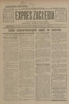 Expres Zagłębia : jedyny organ demokratyczny niezależny woj. kieleckiego. R.4, nr 289 (5 listopada 1929)