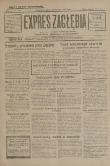 Expres Zagłębia : jedyny organ demokratyczny niezależny woj. kieleckiego. R.4, nr 292 (8 listopada 1929)