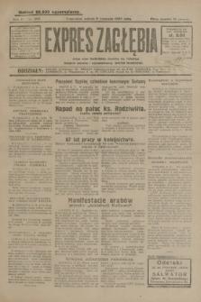 Expres Zagłębia : jedyny organ demokratyczny niezależny woj. kieleckiego. R.4, nr 293 (9 listopada 1929)