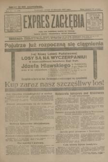 Expres Zagłębia : jedyny organ demokratyczny niezależny woj. kieleckiego. R.4, nr 296 (12 listopada 1929)