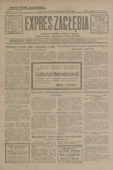 Expres Zagłębia : jedyny organ demokratyczny niezależny woj. kieleckiego. R.4, nr 297 (13 listopada 1929)