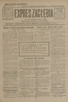 Expres Zagłębia : jedyny organ demokratyczny niezależny woj. kieleckiego. R.4, nr 298 (14 listopada 1929)