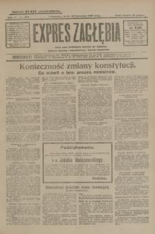 Expres Zagłębia : jedyny organ demokratyczny niezależny woj. kieleckiego. R.4, nr 304 (20 listopada 1929)