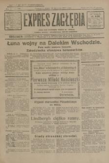 Expres Zagłębia : jedyny organ demokratyczny niezależny woj. kieleckiego. R.4, nr 306 (22 listopada 1929)