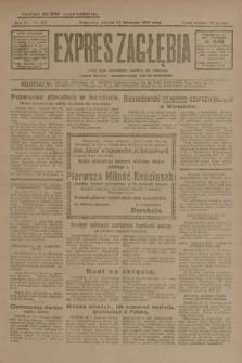 Expres Zagłębia : jedyny organ demokratyczny niezależny woj. kieleckiego. R.4, nr 307 (23 listopada 1929)