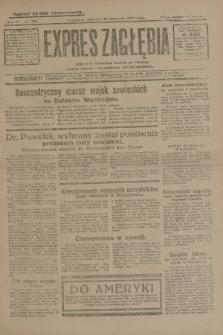 Expres Zagłębia : jedyny organ demokratyczny niezależny woj. kieleckiego. R.4, nr 308 (24 listopada 1929)