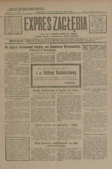 Expres Zagłębia : jedyny organ demokratyczny niezależny woj. kieleckiego. R.4, nr 311 (27 listopada 1929)