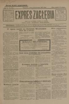 Expres Zagłębia : jedyny organ demokratyczny niezależny woj. kieleckiego. R.4, nr 314 (30 listopada 1929)