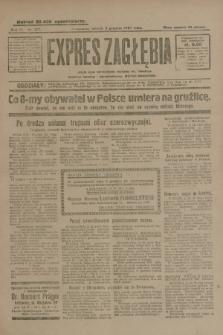 Expres Zagłębia : jedyny organ demokratyczny niezależny woj. kieleckiego. R.4, nr 317 (3 grudnia 1929)