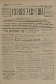 Expres Zagłębia : jedyny organ demokratyczny niezależny woj. kieleckiego. R.4, nr 319 (5 grudnia 1929)