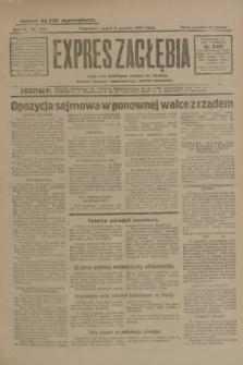 Expres Zagłębia : jedyny organ demokratyczny niezależny woj. kieleckiego. R.4, nr 320 (6 grudnia 1929)