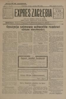 Expres Zagłębia : jedyny organ demokratyczny niezależny woj. kieleckiego. R.4, nr 321 (7 grudnia 1929)